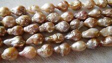 Natural Kasumi like Nucleated flameball pearl