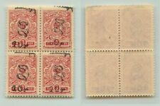 Armenia 1919 SC 146 MNH block of 4 . e7820