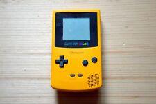 GBC - Nintendo GameBoy Color in Gelb