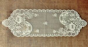Lace Table Runners or Place Mats Tea Pots White or Ivory Kitchen Dining Room