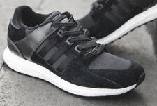 UK SIZE 7.5 - adidas ORIGINALS EQUIPMENT SUPPORT ULTRA BOOST TRAINERS - BLACK