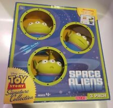 Thinkway Disney Toy Story Signature Collection Space Aliens Brand New Sealed