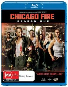 Chicago Fire : Season 1 (Blu-ray, 2014, 5-Disc Set)