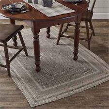 Hartwick Braided Area Rug, Rectangle 4'x 6' By Park Designs. Dark & Light Gray
