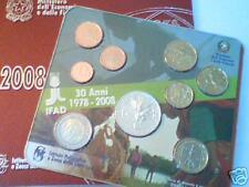 2008 9 monete 8,88 EURO ITALIA ITALIE ITALY ITALIEN IFAD Италия 意大利 イタリア