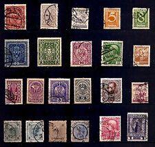 AUTRICHE 22 timbres oblitérés anciens début 1900  PR 35
