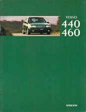 Volvo 440 & 460 1995-96 German Market Sales Brochure 1.6 1.8 2.0 Turbo 1.9TD