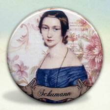 Clara Schumann Romantic Composer Pocket Mirror Tartx
