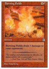Burning Fields   NM   Portal: Three Kingdoms   Magic MTG