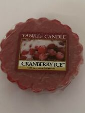 Yankee Candle wax melt Canberry ice