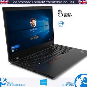 Lenovo ThinkPad T14 Laptop 10th Gen Core i5 16GB RAM 256GB SSD Touchscreen