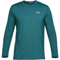 NWT under armour threadborne men sz L UA seamless fitter longsleeve crew neck