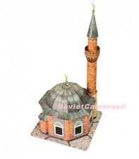 1/87 HO Scale Building Yali Mosque Izmir Turkey Railway Cardboard Model Kit New