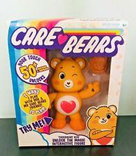 CARE BEARS Interactive Figure 5'' Tenderheart Bear Unlocks 50+Reactions New!