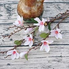 Room Decoration Decorate Marriage Flower Artificial Simulation Magnolia Pink