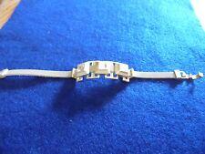 "Lia Sophia Gold ""Industrialize""  Bracelet NEW 7 inches"