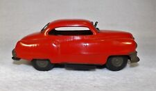 Early Japan Battery Operated Hadson Cadillac Tin Toy Car Complete WORKING Orig.