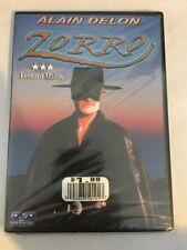 Zorro (DVD) Alain Delon RARE OOP Ottavia Piccolo BRAND NEW SEALED