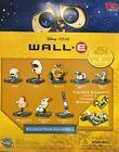 """Disney . Pixar WALL-E PLAYSET 8 FIGURES WALLE.E Pixar toy cake toppers """"Gacha"""""""