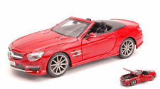 Mercedes SL 63 Amg Roadster Red 1:24 Model MAISTO