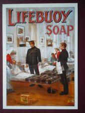POSTCARD  LIFEBUOY SOAP FOR SAVING LIFE