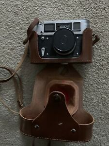 Original Vintage FED-4 Camera with leather case