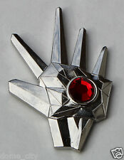 Logan's Run Brooch Red Life Clock Crystal / Micheal York Metal Lapel Pin