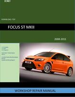 Ford Focus 2008-2011 Service Repair Manual PDF***THE BEST***