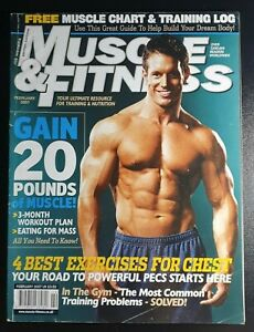 Muscle & Fitness Magazine February 2007 (293) Gain 20 Pounds of Muscle