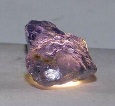 21.80 Ct Natural Yellow & Purple Tanzania Iolite Earth-Mined Specimen Rough