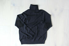 Apolis Global Citizen Black Baby Alpaca Cotton Turtleneck Sweater Large