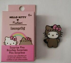 LOUNGEFLY SANRIO HELLO KITTY 💗 PUSHEEN ENAMEL PIN HELLO KITTY IN PUSHEEN COSTUM