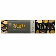 Vivani Amande Orange 35 g-Vegan barre de chocolat (lot de 18)