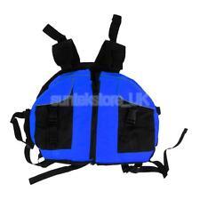 Canoe Kayaking Sailing Buoyancy Aid Safety Life Jacket PFD Vest Blue