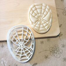 Spiderman Cookie Cutter - Fondant Cake Cupcake Topper Mold Superheros Spider Man