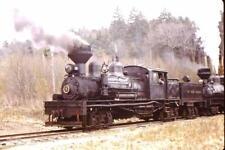 *Original Train Slide Cass Scenic Rr Loco No 5 + 4 Shay'S #2354