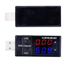Cargador USB detector carga de la Bateria Corriente Tension Voltimetro Probador