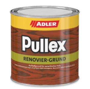 Pullex Renovier-Grund ESTERNO Finitura coprente  a solvente per legno ADLER --