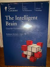 The Great Courses THE INTELLIGENT BRAIN 3 Disc DVD Set & Guidebook