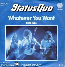7inch STATUS QUO whatever you want GERMAN 1979  EX+ +PS