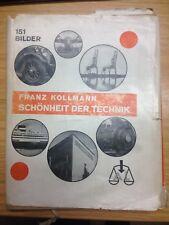 Schönheit der Technik (Leinen) von Franz Kollmann