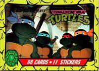 1989 TOPPS TEENAGE MUTANT NINJA TURTLES SERIES 1 - PICK / CHOOSE YOUR CARDS