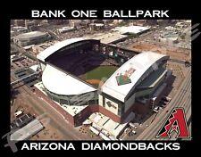 Phoenix - BANK ONE BALLPARK - ARIZONA DIAMONDBACKS - Souvenir Refrig Magnet