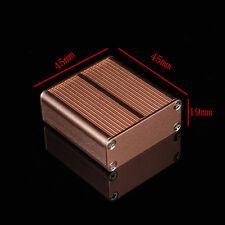 Industrial Aluminum Champagne PCB Instrument Box Enclosure Project Electron Case