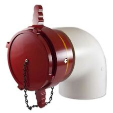 "Female 6"" Dry Hydrant 90 Degree Adapter"