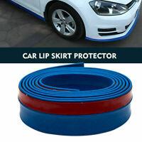Gonna Di Gomma Di Auto Paraurti Anteriore Spoiler Lip Protector Universale Blu