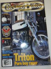 Classic Bike Magazine Triton Pure Boy Racer & Kawasaki Z1 February 1995 012115R2
