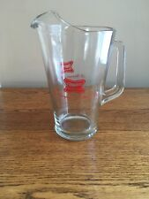 """Miller High Life """"The Champagne of Bottle Beer"""" 64-Ounce Glass Beer Pitcher"""