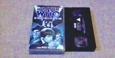 DOCTOR WHO THE FACELESS ONES & THE WEB OF FEAR UK PAL VHS VIDEO 2003 Troughton