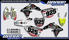 Suzuki RMZ-450 2008-2017 GRAPHICS DECAL KIT MOTOCROSS BRAAP